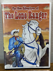 The New Adventures Of The Lone Ranger Dvd New Sealed Cartoon Animated Free Ship
