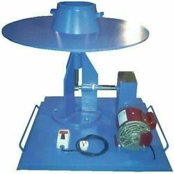 13 Inch Brass Flow Table Motorized For Concrete Lab Equipment