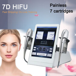 7d Hifu Focused Ultrasound Beauty Machine Face Lift Wrinkle Removal Anti Aging