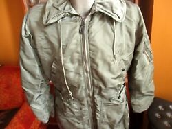 Vintage 1960 Cwu-1/p Coverall Flying Flight Suit Small Green Us Airforce Ownbey