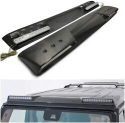 Mercedes W463a W464 G-wagon G-class Front Roof Carbon Spoiler With Original Leds