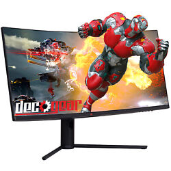 Deco Gear 34 3440x1440 219 Ultrawide Curved Monitor 144hz Hdr10 40001 6ms