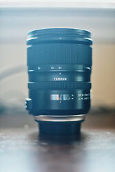 Tamron 24-70mm F/2.8 Di Vc Usd G2 Canon - Ef Mount Lens With 82mm Uv Filter