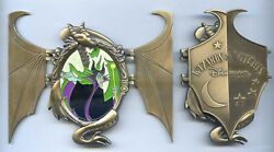 Dlp - Pin Trading Event Wizards And Witches - Mini-jumbo Maleficent Pin