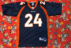 Champ Bailey Peyton Manning Hof Jersey Nfl Denver Broncos Mitchell And Ness Nike