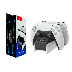 For Ps5 Dualsense Dual Controller Charging Station Dock Playstation 5 Charger