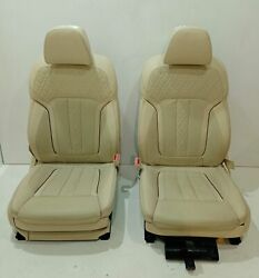 Bmw Comfort Leather Front Seats Memory Massage Heating Function G30 G32 G11 G12