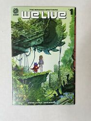 We Live 1 2020 - 2021 Series First Print - Key Aftershock Comic Book - H@t🔥nm