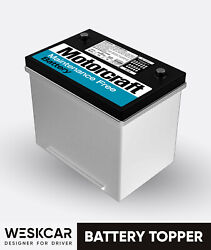 Motorcraft Ford Battery Red Group 24 Mf-24c 1979-84 Battery Topper