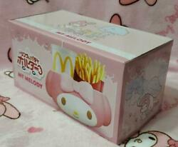 New My Melody Mcdonald's Drink And Potato Holder Sanrio Limited Holder For Car New