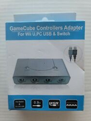 Gamecube Controller Adapter For Nintendo Switch, Pc, Wii U. New
