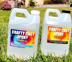 Crystal Clear. Super Gloss, Arts And Crafts Epoxy Resin - 1 Gallon Kit