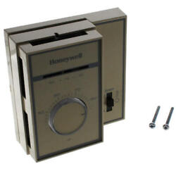 Honeywell T6169b4017 Fan Coil Thermostat, 2/4-pipe Remote Heat/cool, 120-277v