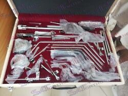 Thompson Retractor Complete 38pcs Set Stainless Steel Surgical Instruments A+