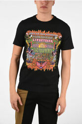 Neil Barrett Men T-shirts And Tops Printed Find Your Beach Slim Fit T-shirt