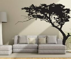 Wall Tree Sticker Decal Black Vinyl Art Home Room Decor Large Mural Removable