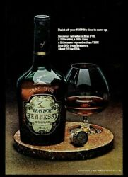 1971 Hennessy Bras Dand039or Cognac Bottle And Snifter Photo Vintage Print Ad