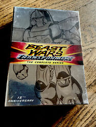 Transformers Beast Wars Complete Animated Tv Series 8-dvd Set New Sealed Robots