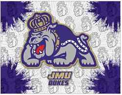 James Madison Dukes Hbs Gray Purple Wall Canvas Art Picture Print