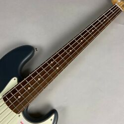 Fender Made In Japan Hybrid Jazz Bass Charcoal Frost Metallic 5-string