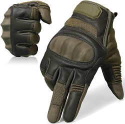 Axbxcx Touch Screen Full Finger Gloves For Motorcycles Cycling Motorbike Atv Men