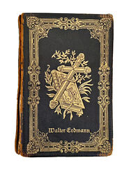 1909-10 Antique Leather German Lutheran Prayer Book Concordia Publishing House