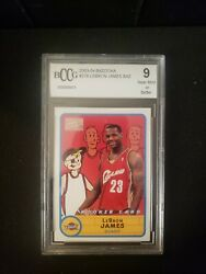 2003 Topps Bazooka 276 Lebron James Rc Rookie Card Bccg Graded 9
