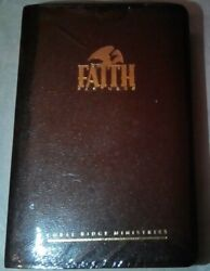 Holy Bible New King James Version Faith Partners Leather Giant Print Center New