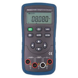 Reed Instruments R5800 Current And Voltage Calibrator,lcd,24vdc