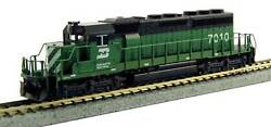 Kato 1764960and1dcc N Scale Emd Sd40-2 Burlington Northern 6792 And 7010 1 Pair