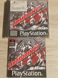 Armorines Project S. W. A. R.m Sony Ps1 Playstation 1 Slim Ps2 Ps3
