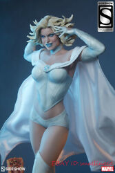 1/4 Sideshow Emma Frost Figure X Man White Queen Ex Edition Statue In Stock New