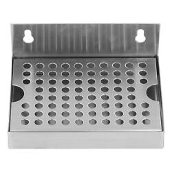 Wall Mounted Beer Drip Tray Stainless Steel For Homebrew Kegging Draft Beer Gd