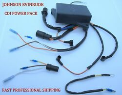 New Evinrude Johnson Omc Outboard Cdi Power Pack Many 94-2004 50 60 70 Hp 3 Cyl