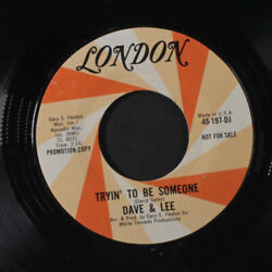 Dave And Lee Sad Septembre / Tryinand039 Pour Andecirctre Someone London 7 Simple 45 Rpm