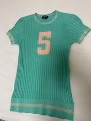 Authentic Top 2019sschanel Knit Short Sleeve Free Shipping No.235