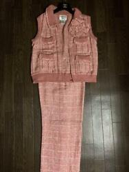 Authentic Best Pants Set With Camellia Free Shipping No.1197