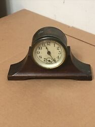 Antique White Ribbon Chips Advertising Clock Restoration Project