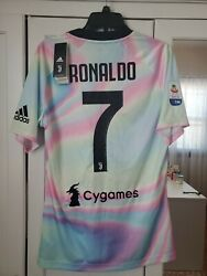 Cr7 Adidas Juventus 2018/2019 4th Jersey Limited Edition