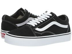 Old Skool Mens Womens Black White Canvas Suede Low Top Skateboard Shoes