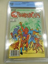 Thundercats 1 Marvel/star 1985 Cbcs Nm/mt 9.8 Not Cgc Rare Newsstand 1st Andand