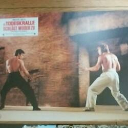 Bruce Lee German Version 16 Lobby Cards On The Road To The Dragon