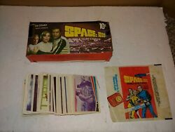 Vintage 1976 Space1999 Group Of 111 Trading Cardsretail Counter Boxwax Pack