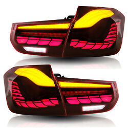 For 2012-2018 Bmw 3-series F30 Red Led Taillight With Sequential Turn Signals
