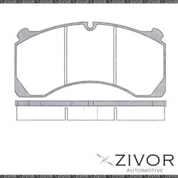 Protex Brake Pads - Front For Kenworth T409 . 2d Truck 6x4 2011-2016 By Zivor