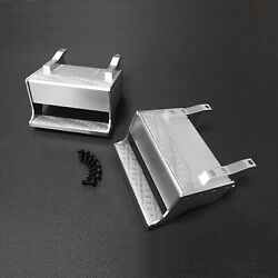 1 Pair Aluminum Metal Steps For Tamiya Model Truck Tractor 1/14 King Accessories