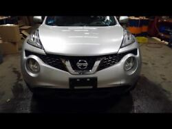 Front Clip Halogen Headlamps Without Fog Lamps S Silver Fits 15-17 Juke 736192