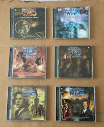 6 Doctor Who Andlrmcds The Stones Of Venice / Eye Of Scorpion / Sandman / Time Works