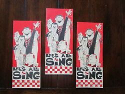 Vintage Advertising Ralston Purina Company Let's All Sing Song Booklets Lot Of 3