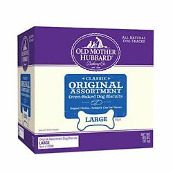 Old Mother Hubbard Classic Original Assortment Biscuits Baked Dog Treats Larg...
